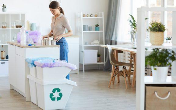 10 tipów żeby produkować mniej odpadów w domu