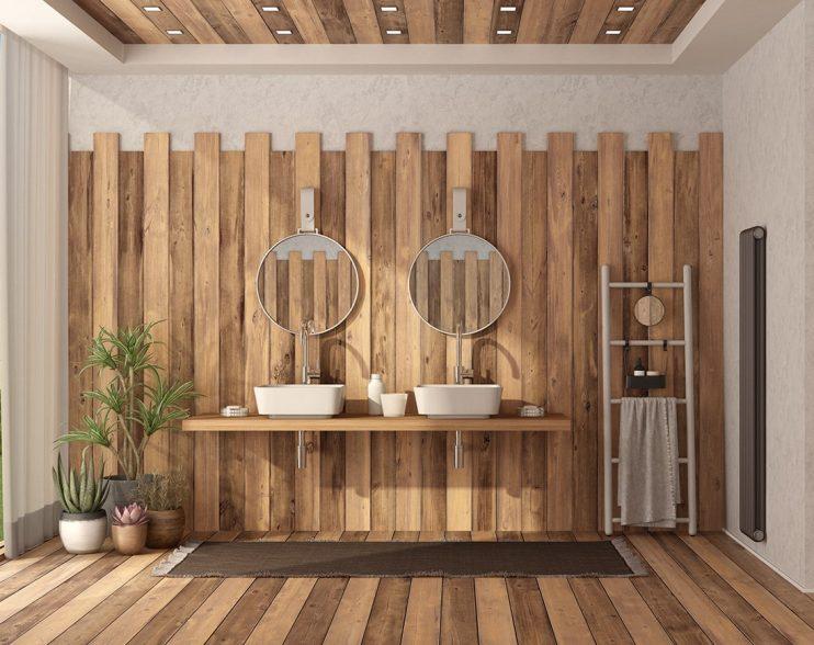 Czy drewno w łazience to dobry pomysł?